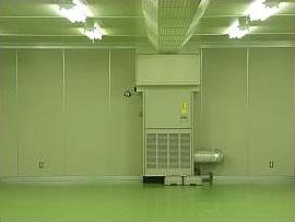 C社 梱包作業工程での異物混入防止対策でクリーンルームに