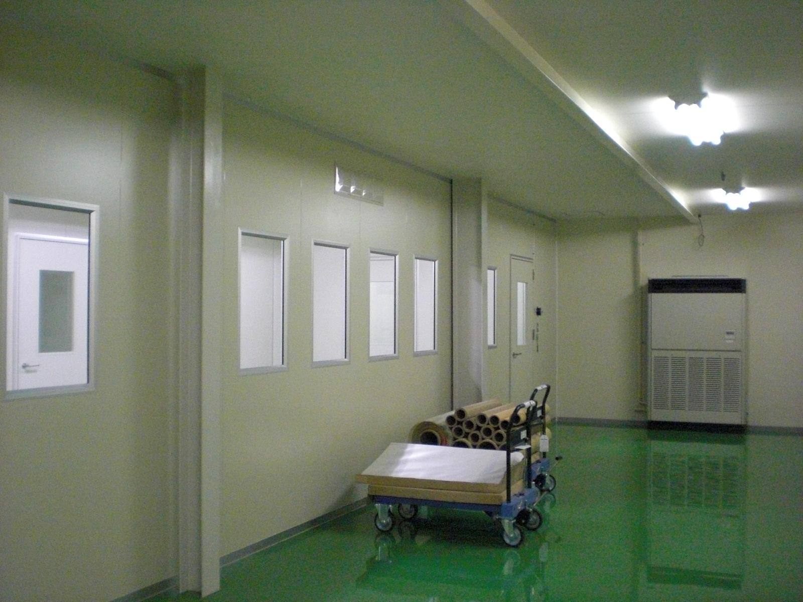 大同化工株式会社様 クリーンルーム設置工事
