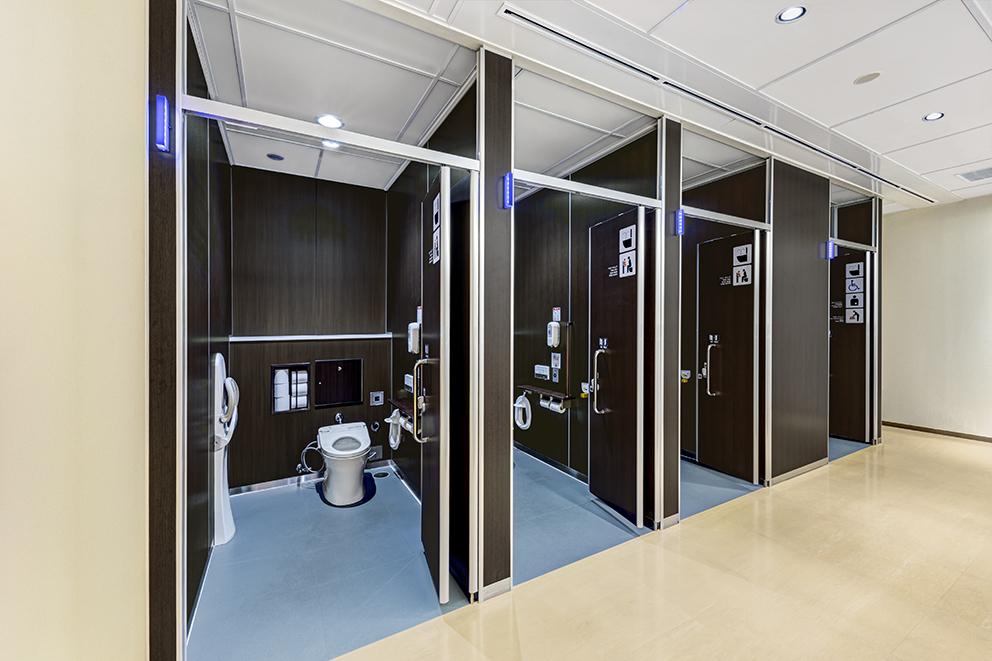 NEXCO中日本様 海老名サービスエリア 男子トイレ(神奈川県)